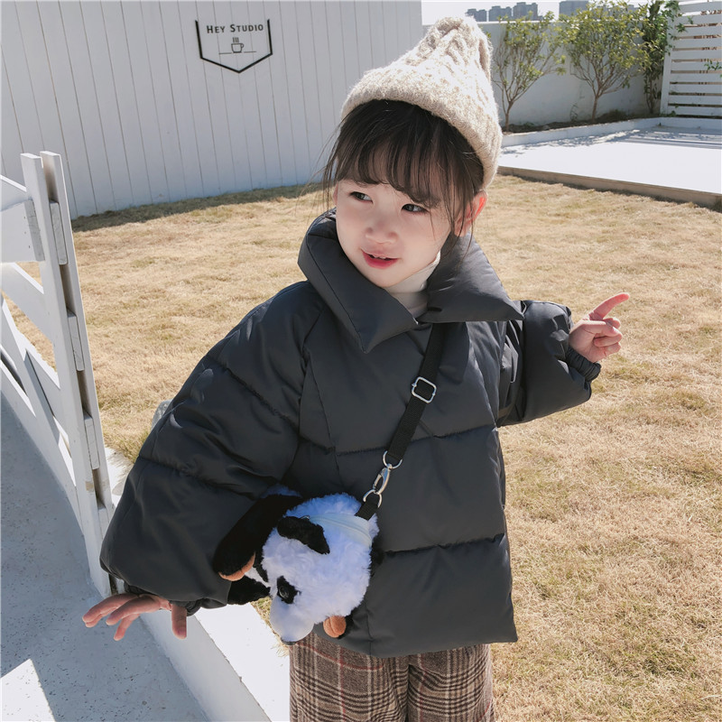 Girls Winter Coats and Jackets Children Girls Parka Warm Clothes New Thick Coat Cotton Padded Windproof Coat женская утепленная куртка shang feier 4055 2014women winter cotton padded jackets coats slim parka