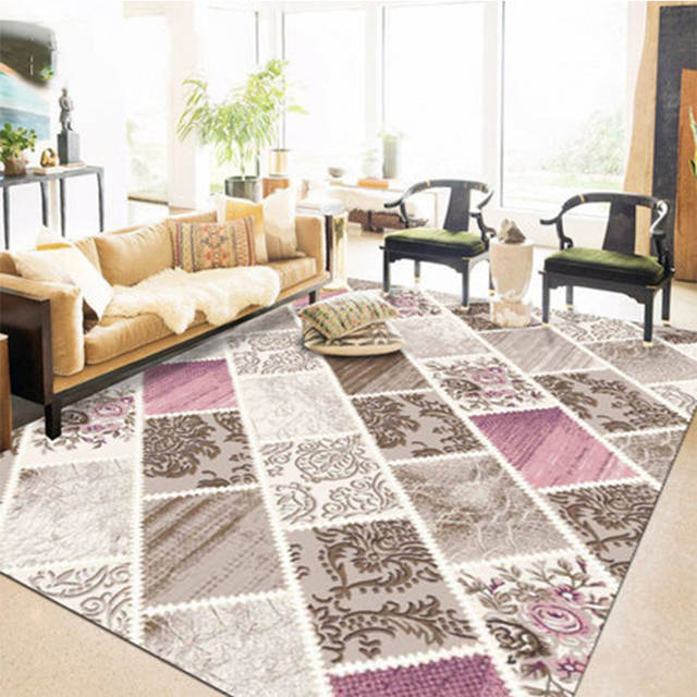 Online Shop 3d Flower Floral Carpets For Living Room Modern Kids