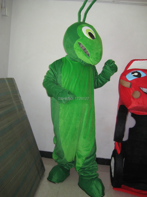 US $242 25 5% OFF|mascot Grasshopper mascot Locust costume custom fancy  costume anime cosplay kit mascotte theme fancy dress carnival costume-in