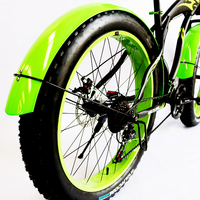 2PCS/lot Bicycle Fender Fat Mountain Bike 26x4.0 Front Rear Quick Release Cycling Fender Wings Mud Guard High Strength Bike Pa