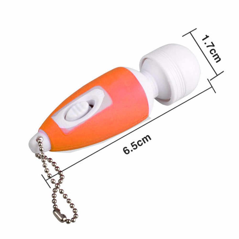 Mini vibrador para mujeres juguete sexual Mini palo G vibrador de punto para mujer Bullet mensaje vibrador 527 +
