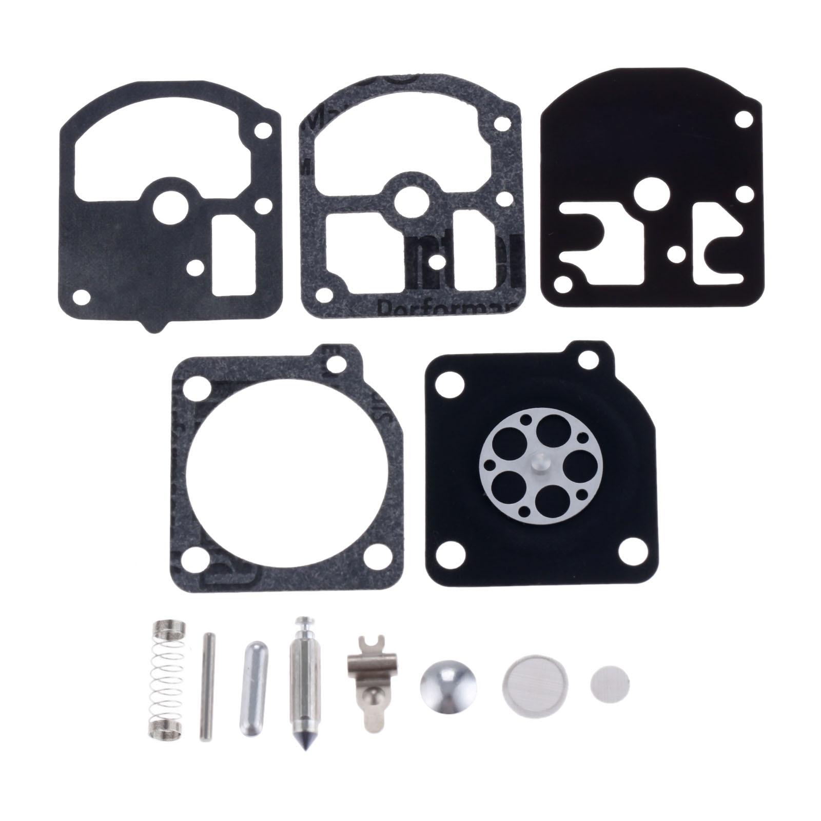 DRELD Carburetor Repair Kit Fit For Echo CS280E CS280EP Chainsaw Zama C1S-K1D Carbs HOMELITE 240 STIHL 09 010 TRIMMER CHAINSAWS