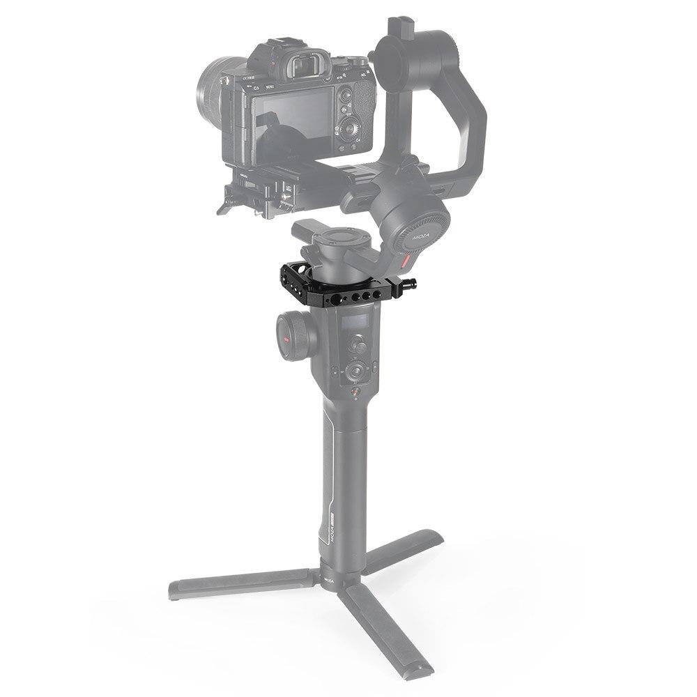 Braçadeira De Montagem para a MOZA SmallRig 2 Dual Camera Rig Ar Pode Anexar com a Nato Alça EVF Montar Ou Microfone DUY opções BSS2328