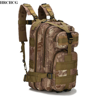 25L Military Tactical Assault Pack Backpack Army Molle Waterproof Case Out Bag Small Rucksack For Outdoor