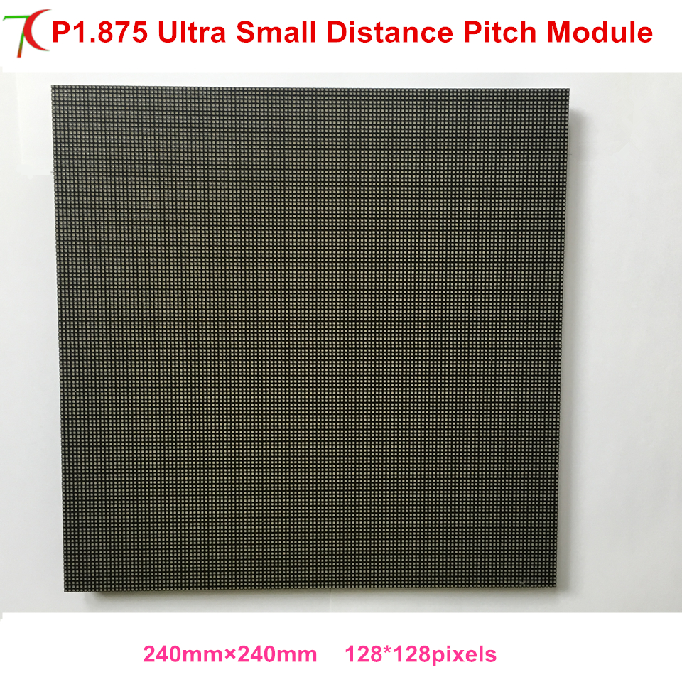 China factory sales P1.875 indoor 240*240mm ultra smaller distance pitch LED screen board for high defination led video wallChina factory sales P1.875 indoor 240*240mm ultra smaller distance pitch LED screen board for high defination led video wall