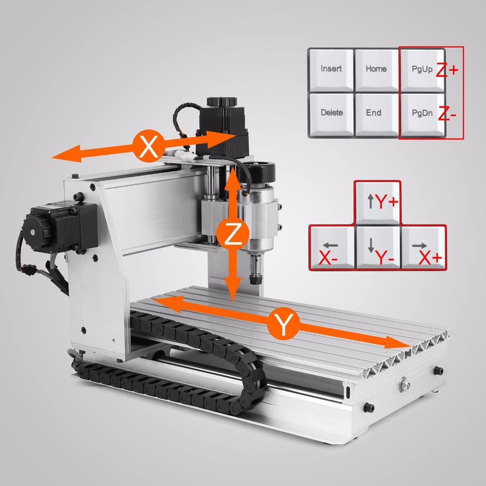Durable  Engraving Drilling And Milling Machine 4 Axis CNC 3020T Router Engraver Brand-new