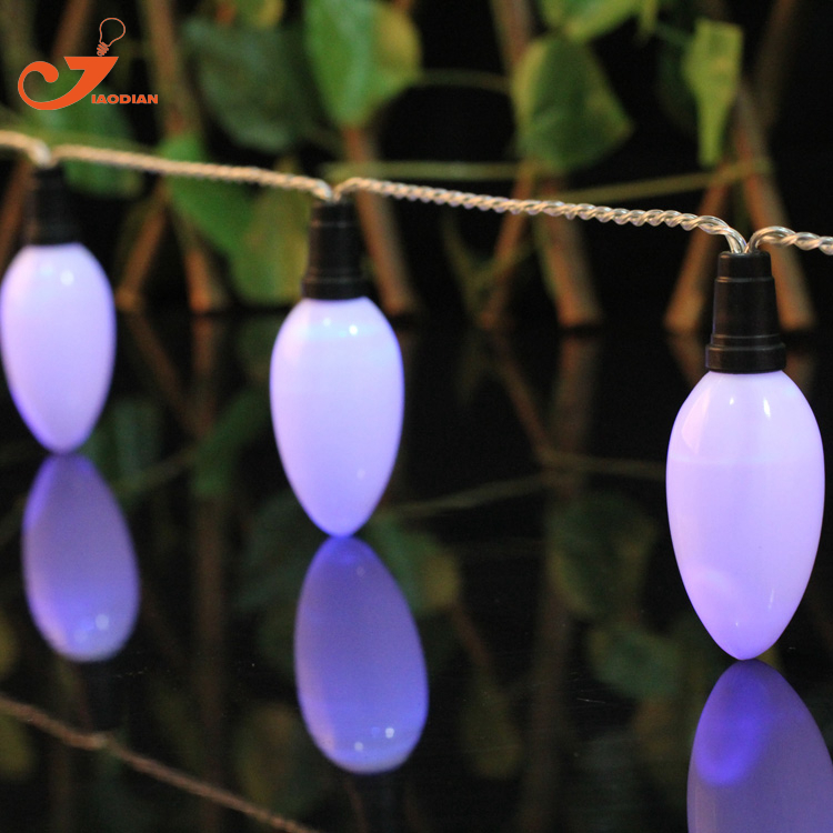 Свечах C9 освещения летние свет новый год белый огни строки Главная партия Сад 3 В AA питание от аккумулятора миниатюрные фонари