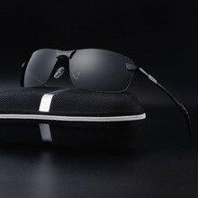 2017 Polarized alloy frame Pilot Men Sunglasses Fashion  Frame Brand Designer Retro  Sun Glasses men Eyewear xy15XY067