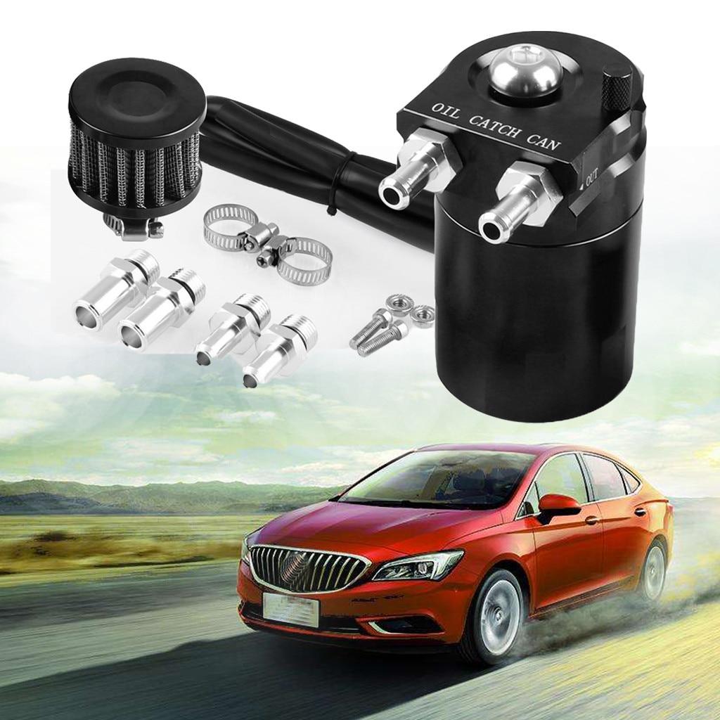 Bouchon d'huile universel en aluminium déflecteur polonais réservoir de réservoir noir accessoires universels de voiture
