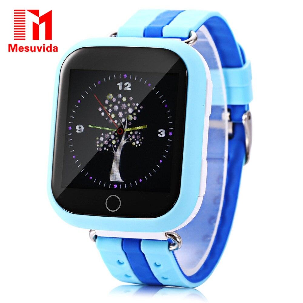 Mesuvida Q750 q100 GPS трекер Smart электронные часы Дети Детские часы Wi-Fi 1.54 дюйма Сенсорный экран SOS вызова расположение устройства