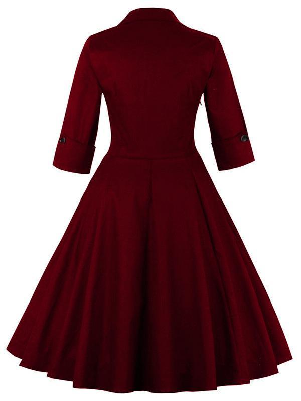 b47b17f30d Uk mulheres plus size roupas dos anos 50 audrey hepburn s do vintage  elegante decote em v robe feminino vestido de baile retro party dress  vestidos em ...