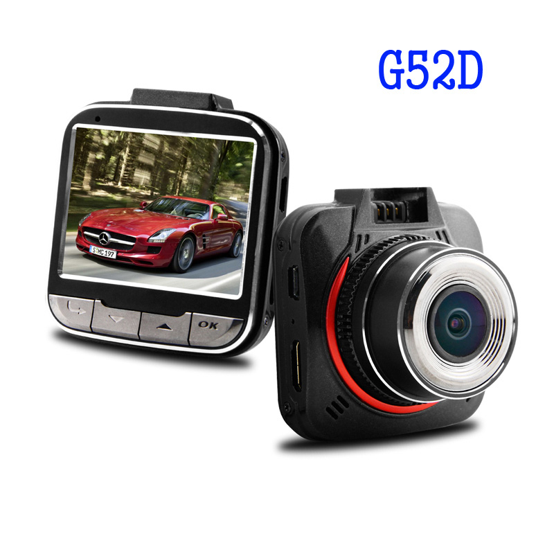 G52D Car DVR Video Recorder Ambarella A7LA50 Full HD 170 Degrees Wide Angle 2.0inch LCD With G-Sensor Camera Free Shipping!! hight quality gt850w shadow1 band car dvr camera 2 7 lcd 140 degrees wide angle full hd 1280x1080p gps logger opetional