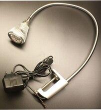 110V/220V 5W Led Desk Lamp Clamp Light