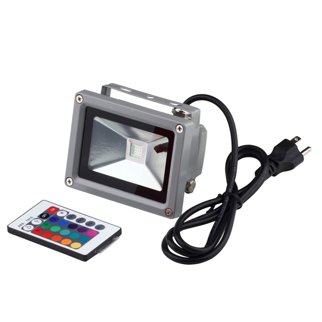Aliexpress buy 1pcs wholesale 1pcslot floodlights 10w rgb led 1pcs wholesale 1pcslot floodlights 10w rgb led flood light outdoor lighting 16 color rgb workwithnaturefo