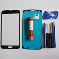 Outer glass for samsung galaxy S5 SV G900F/M/T/P LCD Touch Screen Digitizer Front Glass Lens & LOCA glue & Tools Kit & adhesive