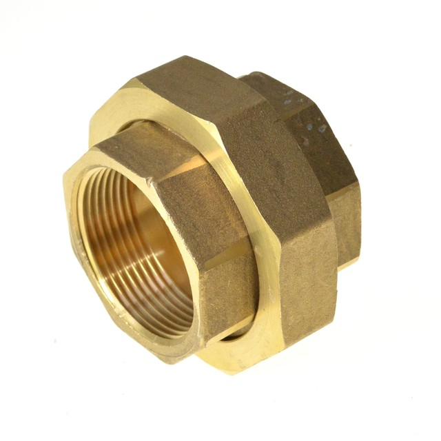 Online Shop Female Inch BSP Malleable Slip Joint Connection Brass ...