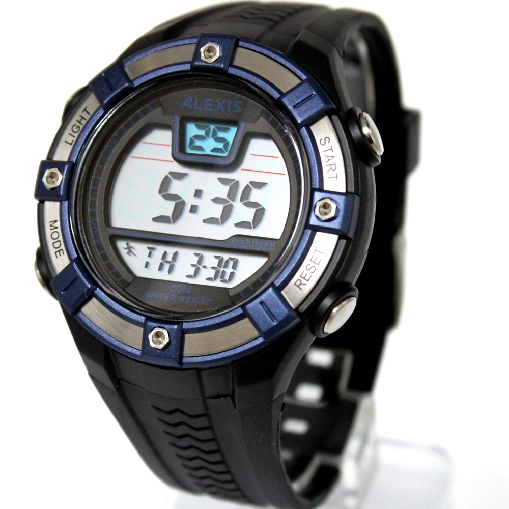 compare prices on mens fitness watch online shopping buy low alexis brand sport round fitness watches for men date alarm backlight water resistant smart digital watch