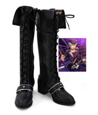 Anime Ensemble Stars Ogami Koga Cosplay Shoes Boots Cosplay Costume Accessories For Men Shoes Custom Made Halloween Party