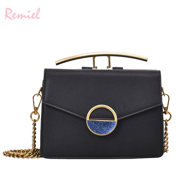 6e50258a3de US $19.98 |Luxury Brand Lady Mini Tote bag 2019 Fashion New High Quality PU  Leather Women's Designer Handbag Diamond Letter Party Hand bag-in Shoulder  ...