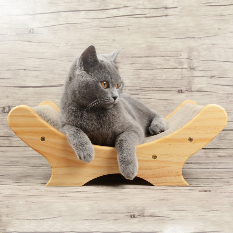Corrugated Paper Cats Scratch Board Grinding Nails Interactive Protecting Furniture Cat Toy Lounger Sofa Cat Scratcher Toy soccer-specific stadium