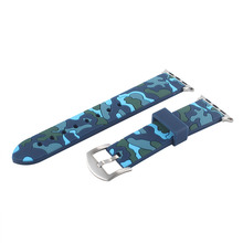 fohuas Camo silicone Sports Strap 38mm For Apple Watch