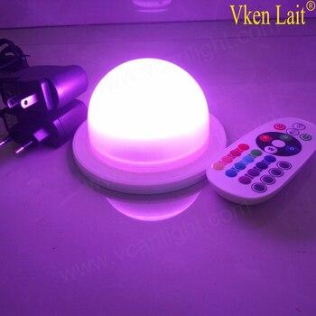 Led system akku fernbedienung wasserdicht für lampe, wie tisch lampe oder unter tisch für alles