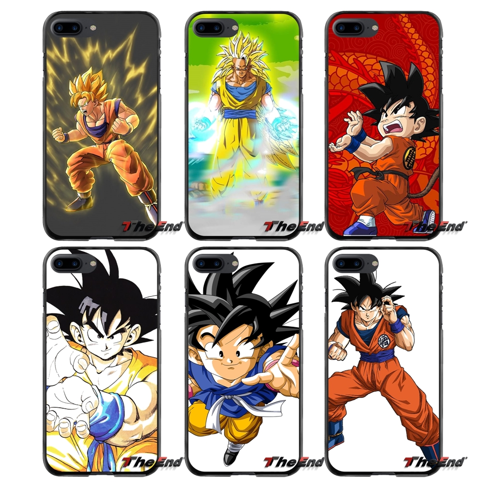 Accessories Phone Cases Covers For Apple iPhone 4 4S 5 5S 5C SE 6 6S 7 8 Plus X iPod Touch 4 5 6 Son Goku Dragon Ball