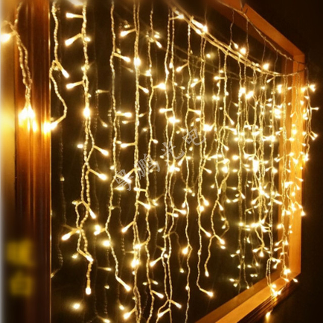 Led String Christmas Lights Ac220v Outdoor 96 Leds Night Light Holiday Party Decoration Luminarias
