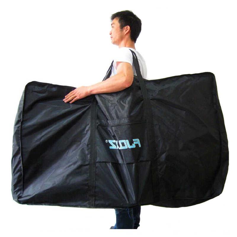 Fiets Draagtas Fiets Carrier Pakket Tassen Voor 26-29 Inch Fiets Vervoer Case Reizen Of Vouwfiets Fietsen bag 130*82*25Cm