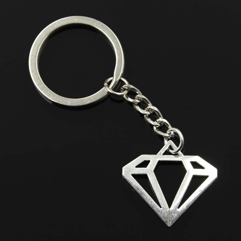 new fashion men 30mm keychain DIY metal holder chain vintage superman logo 28*30mm silver pendant Gift