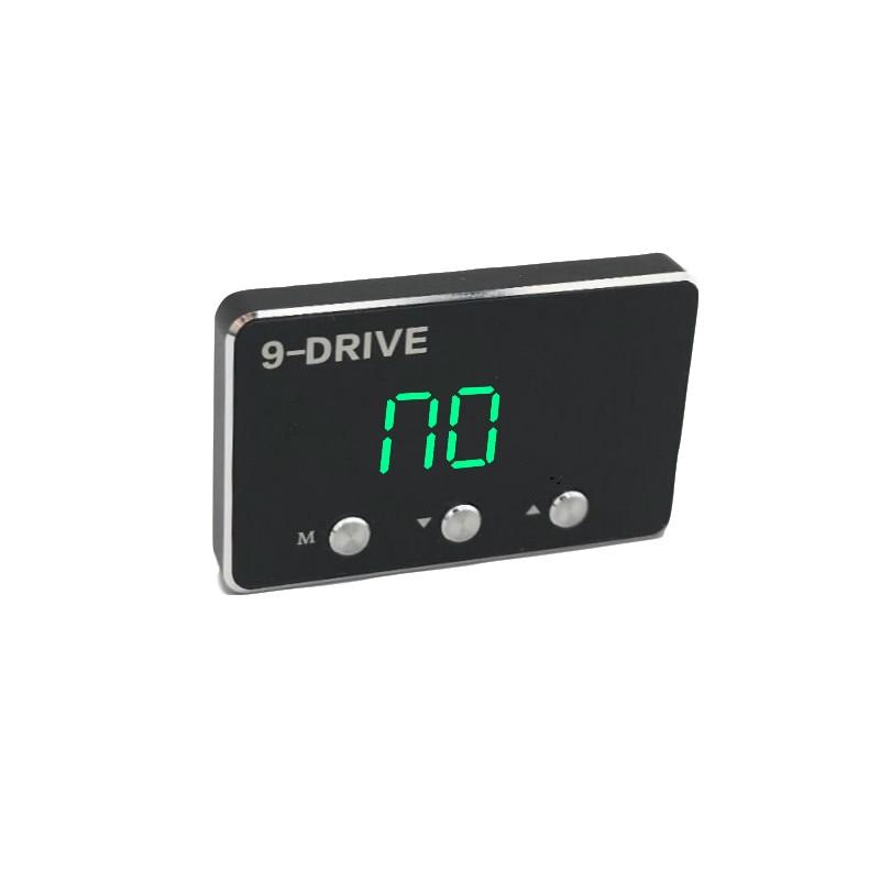 Car Pedal commander Strong Booster 9 mode selective LED screen adjustable Car throttle controller Auto for tucson sedan solaris