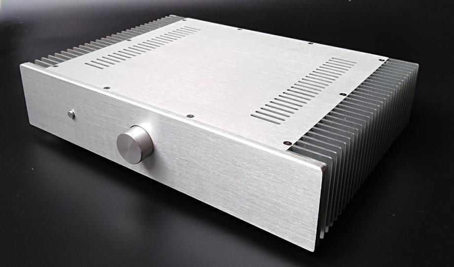 GZLOZONE DIY Class A Power Amplifier Aluminum Chassis Amp Box /case 430*90*308mm L12-13GZLOZONE DIY Class A Power Amplifier Aluminum Chassis Amp Box /case 430*90*308mm L12-13