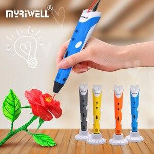 myriwell 3d pen 3d print