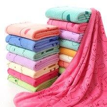 2PCS Lot Oversized cartoon printed beach towel Bath towel cute towel super large 70X140cm