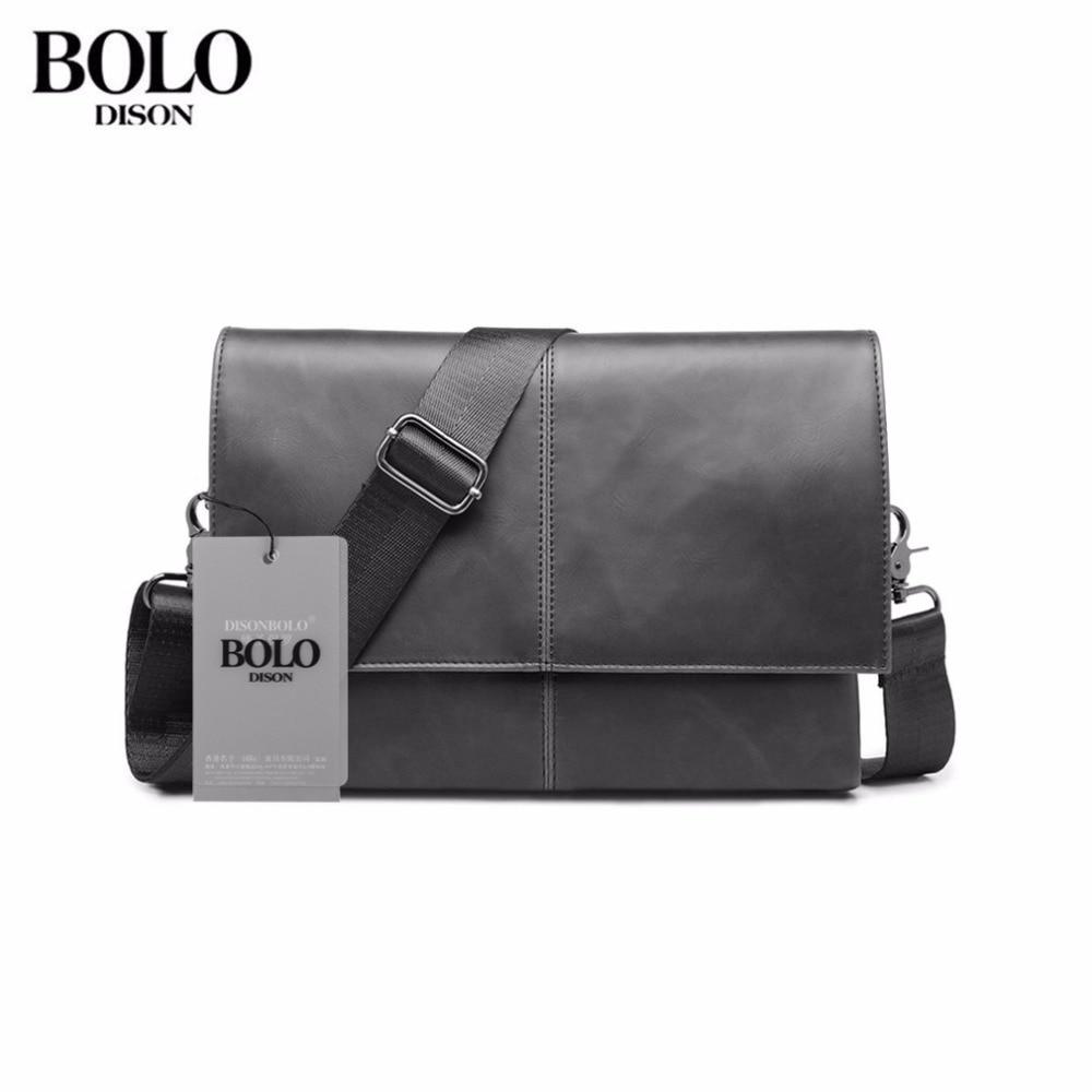 Original Design Male Bag PU Leather Bag Small Crossbody Korean Style Messenger Bags Men Business Portable Travel