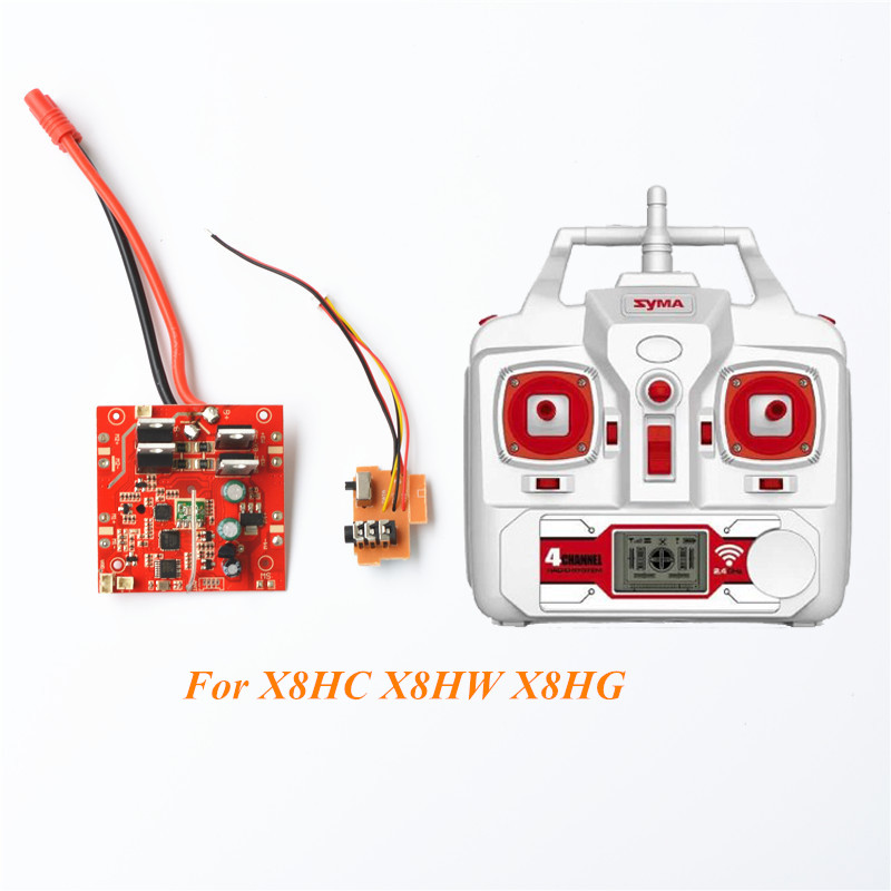 SYMA X8HC X8HW X8HG Barometer Circuit Board And Transmitter Rc Quadcopter Drone Helicopter Spare Parts charger for syma x8c x8w x8hw x8hg quadcopter spare parts rc drone accessory helicopter parts us or europe standard