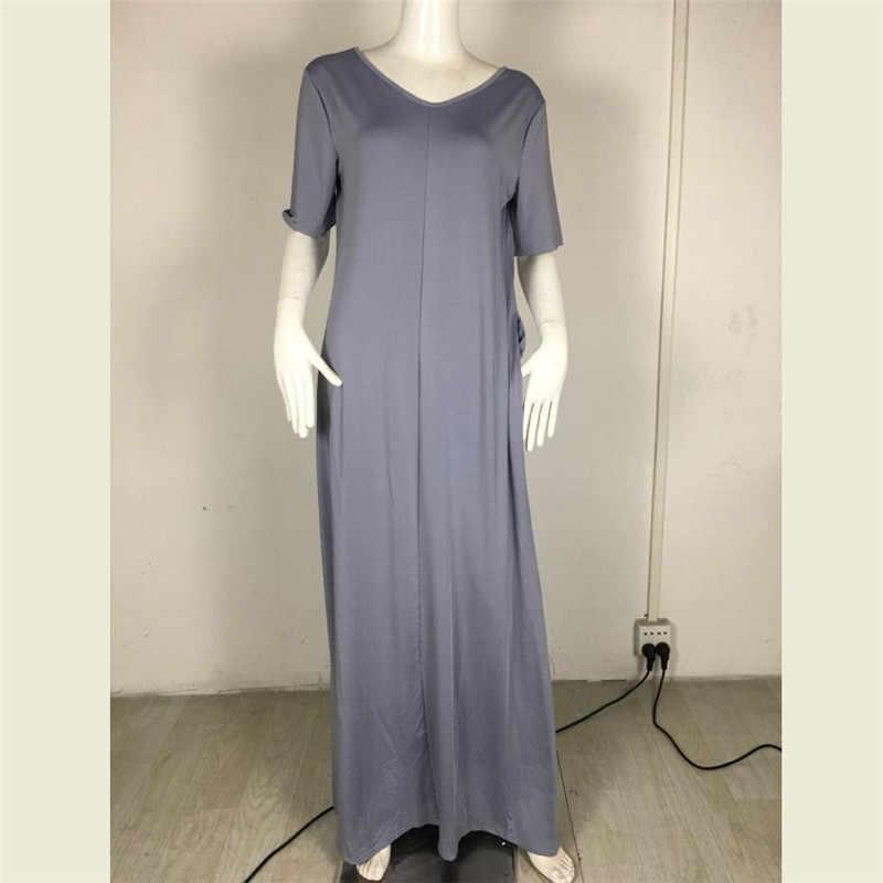 Макси платье-футболка женская летняя пляжная повседневная сексуальная Бохо элегантная винтажная повязка облегающее Черное длинное платье плюс размер платья