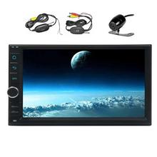 Android 6.0 2Din Car Stereo with Quad Core Car Radio Player In Dash GPS Navigation Multimedia Support Bluetooth/WiFi/OBD2+Camera