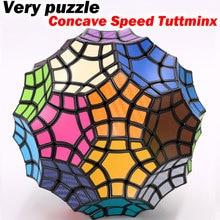 Волшебный кубик головоломка, 32 оси, вогнутая скорость, необычная форма, профессиональный кубик, развивающая логика, твист, игра, куб