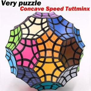 Image 1 - Puzzle Magic Cube VeryPuzzle 32 axis Concave Speed Tuttminx strange shape cube professional educational logic twist game cubo