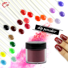 TP 28g/Box (1OZ) 29 Colors Dipping Powder No Lamp Cure Nails Dip Powders Red Gel Nail Powder Natural Dry For Nail Salon