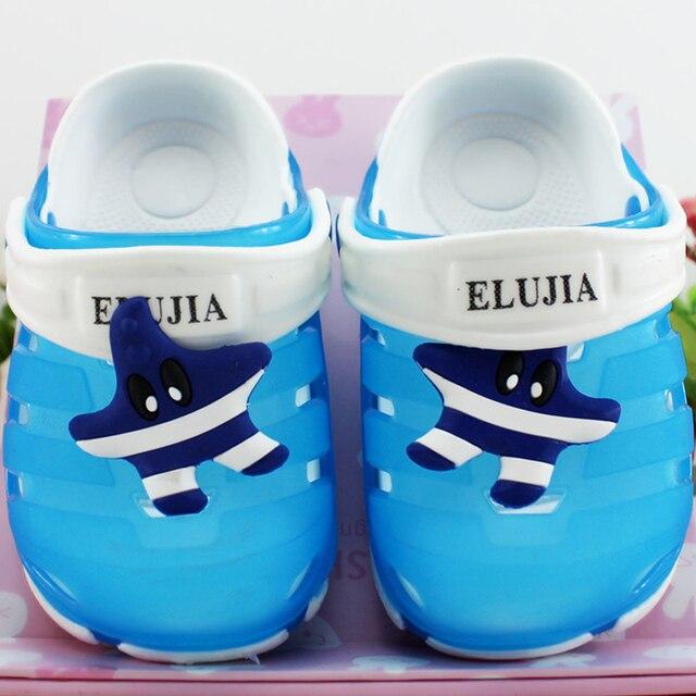 Летняя ЕВА Мода Выдалбливают Дышащий детская Обувь Для Детей Сандалии Девушки Мальчик Тапочки Пляжная Обувь Sandale Дочь 20LM