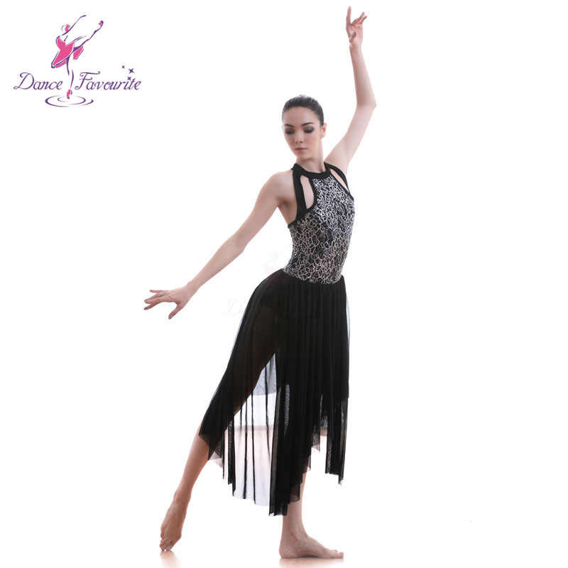 b6daff8427c52 18707 Dance Favourite Black Sequin Lace Bodice Dance Costumes Ballet Dress  Lyrical & Contemporary Dress Skirt