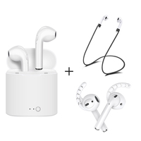 For Apple Airpods I7S TWS Wireless Bluetooth Earbuds In Ear Earphone For IPhone Earpods Replacement Soft
