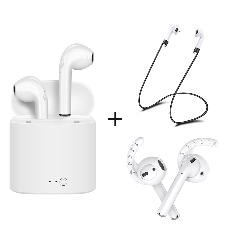 For Apple Airpods I7S TWS Wireless Bluetooth Earbuds In-Ear Earphone for IPhone Earpods  ...