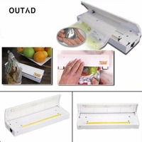 OUTAD Food Sealer Save Home Portable Reseal Keep Food Moistureproof Speed Sealing Machine For Food Plastic