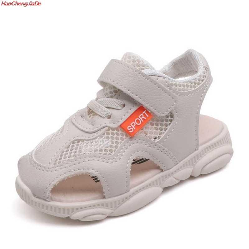 0a53b139446a5 ... ブランド夏ボーイズ gilrs 靴新 2019 子供サンダルクローズド足の子供用の靴 ...