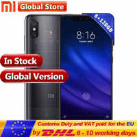 "Global Version Xiaomi Mobilephone Mi 8 Pro 8GB GAM 128GB ROM Snapdragon 845 6.21"" Display Fingerprint and Multi-function NFC"