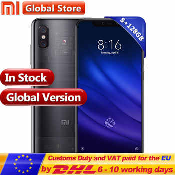 "Global Version Xiaomi Mobilephone Mi 8 Pro 8GB GAM 128GB ROM Snapdragon 845 6.21"" Display Fingerprint and Multi-function NFC - SALE ITEM Cellphones & Telecommunications"