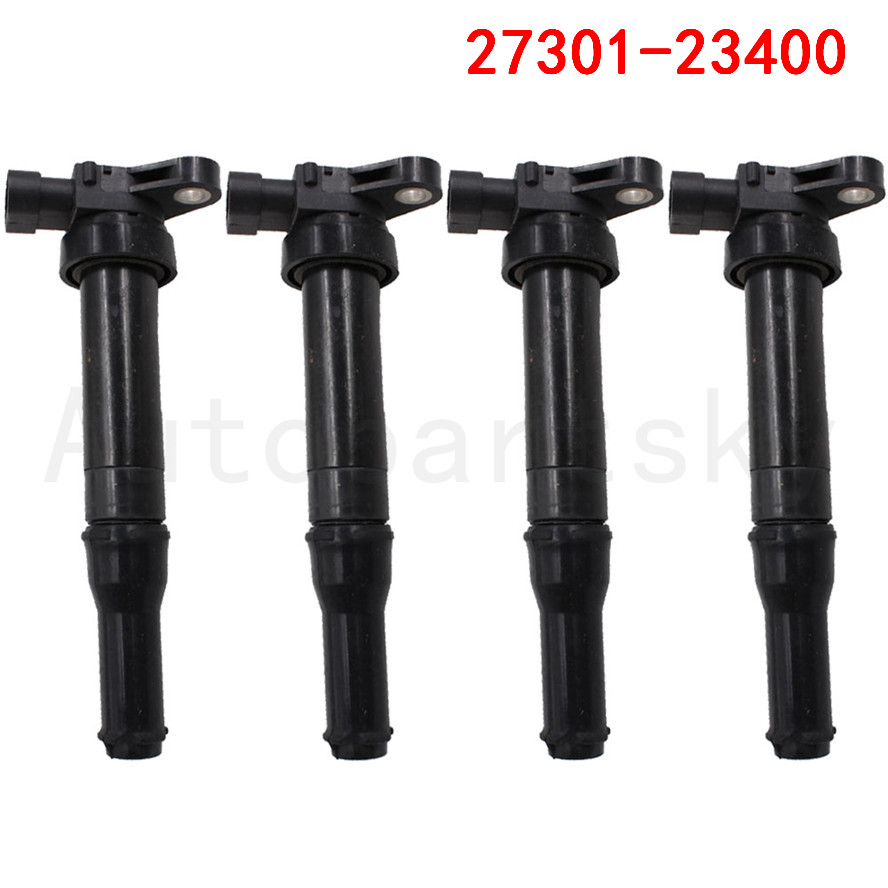 4PCS/LOT replacement 27301 23400 2730123400 Ignition Coil For Hyundai EF Sonata for Kia Optima Carens Clarus DQ50121 C12104-in Ignition Coil from Automobiles & Motorcycles    1
